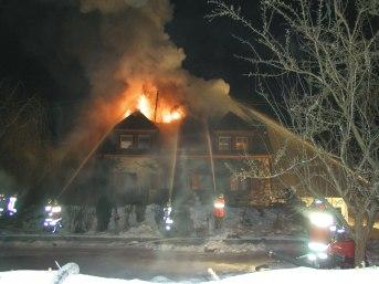 Wohnhausbrand in Sonnwies