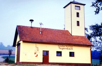 Feuerwehrhaus nach dem Zubau 1985
