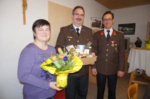 Norbert Dopplmair und seiner Gattin Annemarie wurde großer Dank ausgesprochen